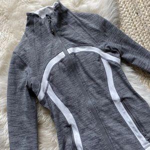 Lululemon Grey/White Define Jacket 4
